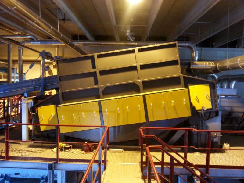 Rihiimäki / Finland – IMT Separator 120 light incl. Air Support System, Higher Roof Construction